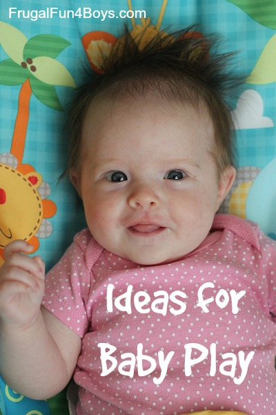Simple Ideas for Baby Play