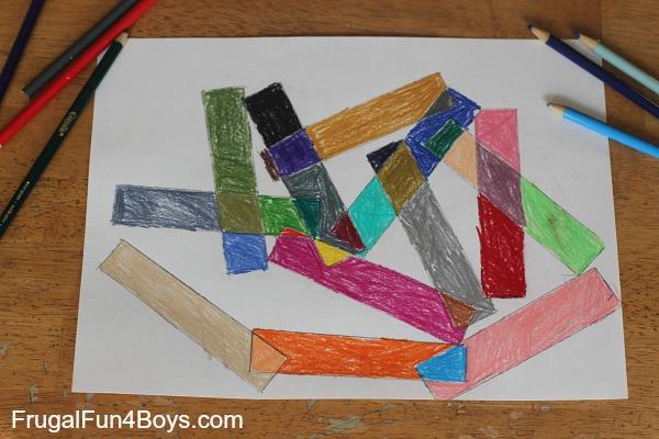 geometric art for kids