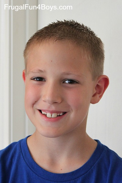How To Do A Boy S Haircut With Clippers Frugal Fun For Boys And Girls