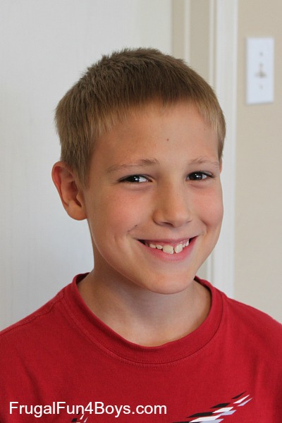 How To Do A Boys Haircut With Clippers Frugal Fun For Boys And Girls
