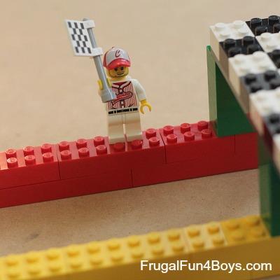 Build a Lego Race Track