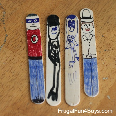 Craft Stick People