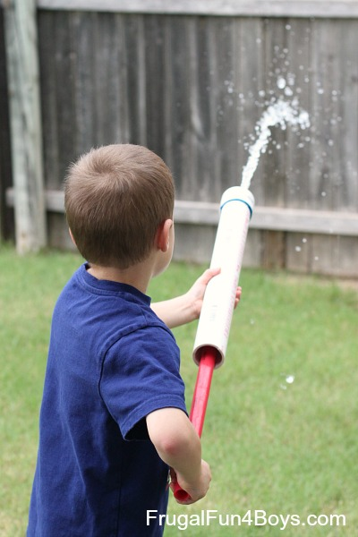 PVC Pipe Water Shooter