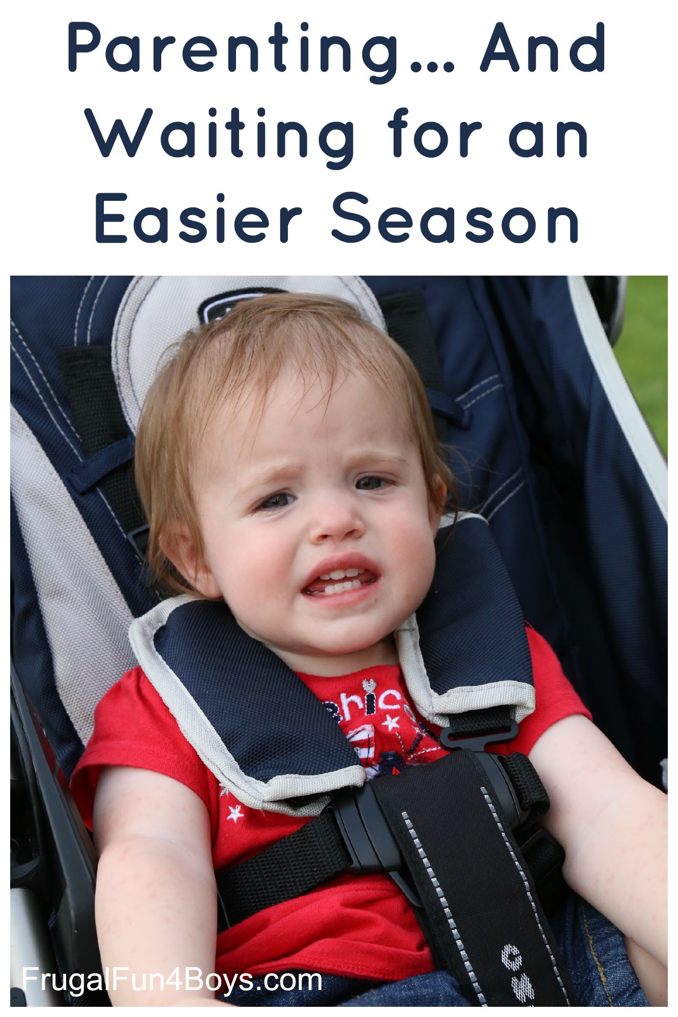 Parenting, and Waiting for the Season to Change