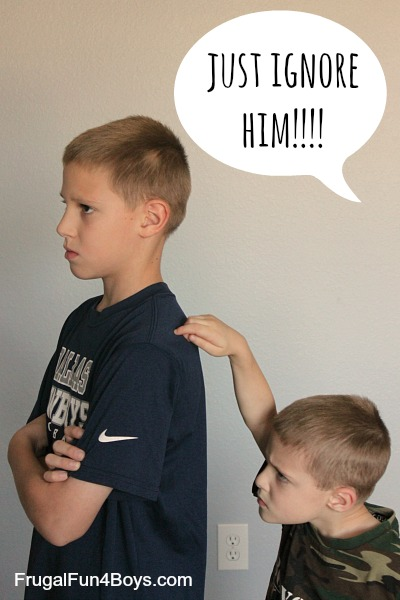 "Going Beyond ""Just Ignore It:""  Strategies for Handling Sibling Fighting"