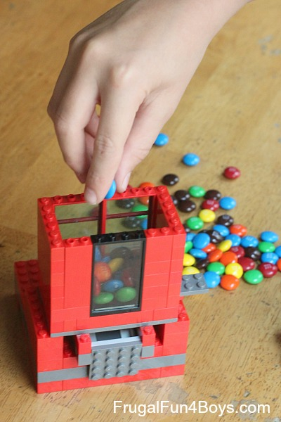 Lego Candy Dispenser