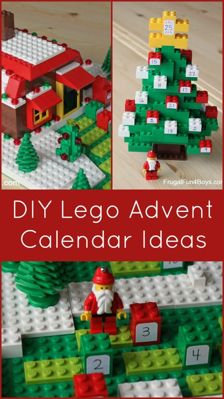 Count down to christmas with a diy lego advent calendar frugal fun count down to christmas with a diy lego advent calendar solutioingenieria