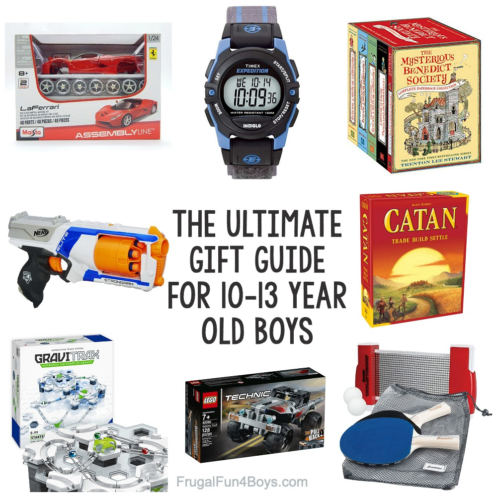 The Ultimate Gift Guide for Boys Ages 10-13