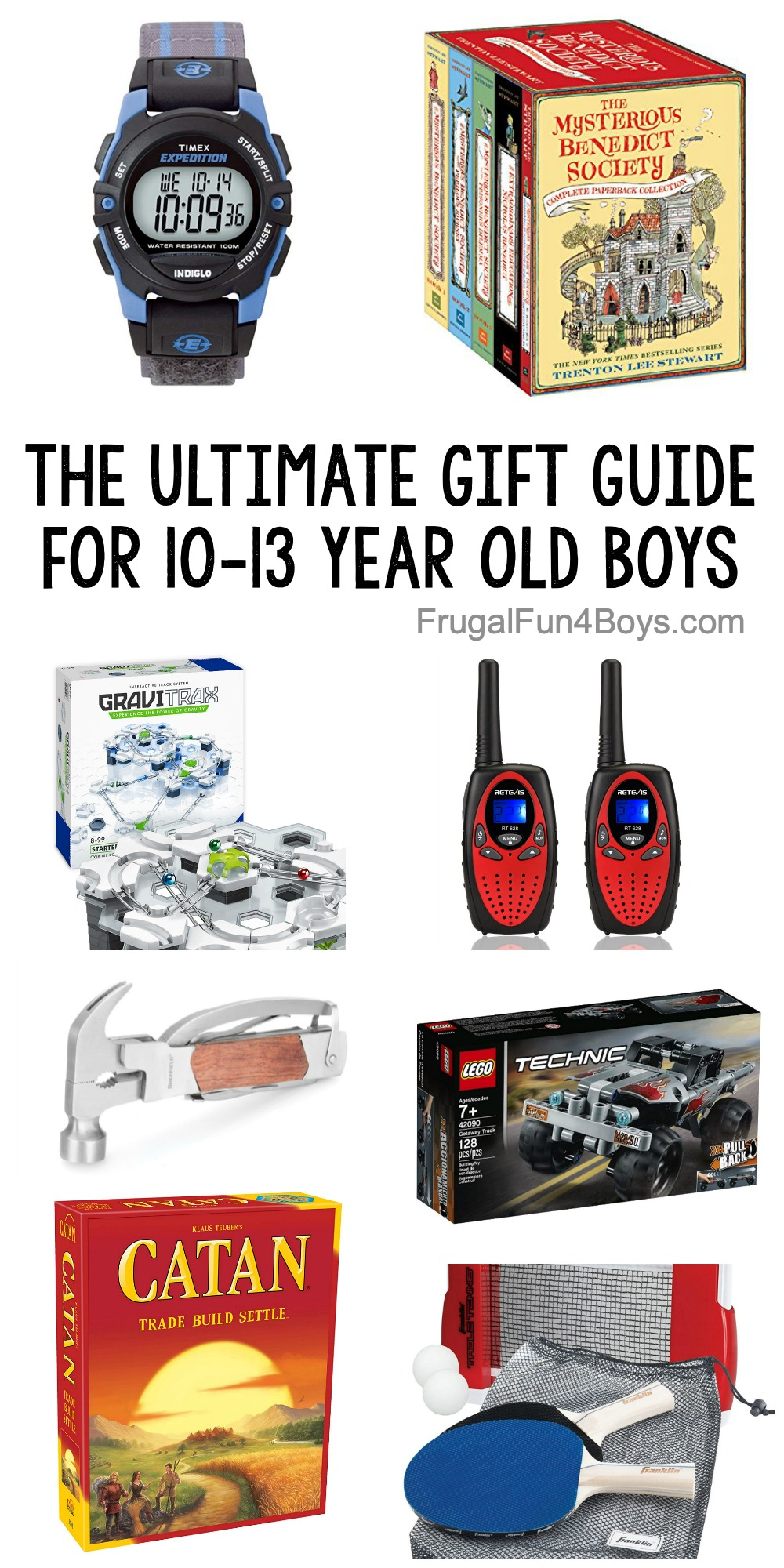 The Ultimate Gift Guide for 10-13 Year Old Boys