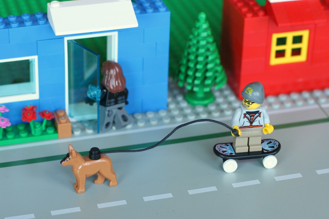 Create your own Lego calendar