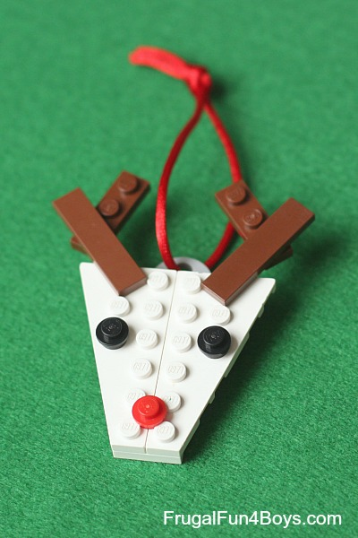 Christmas Lego Projects with Instructions