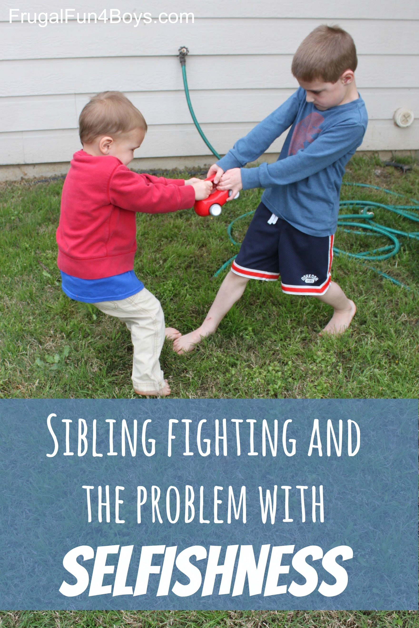 Sibling Fighting and the Problem of Selfishness