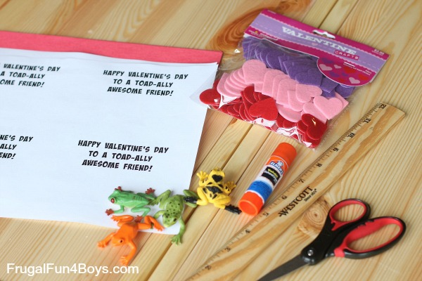 Toad-ally Awesome Valentines - Boy Approved!