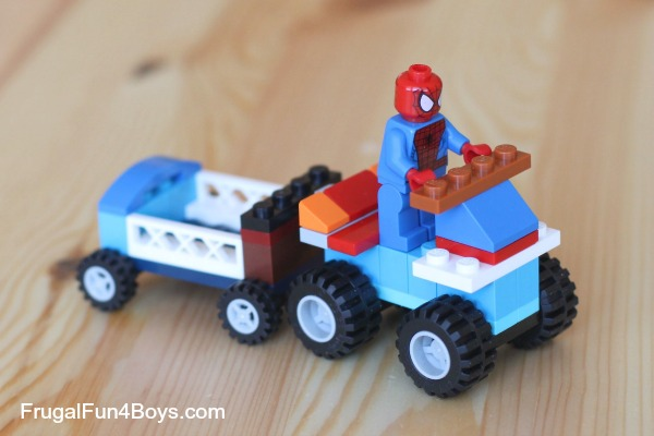 20 Simple Projects For Beginning Lego Builders Frugal Fun For Boys