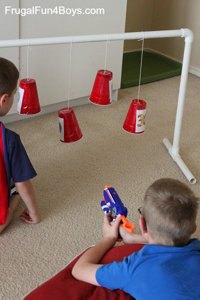 Awesome Nerf Games to Make and Play
