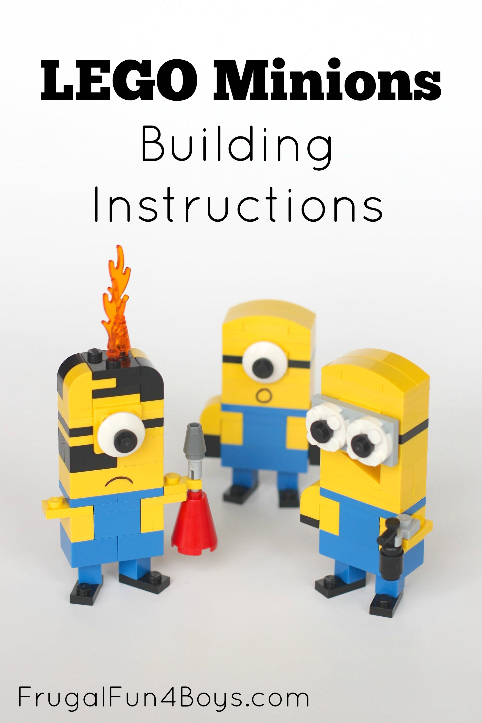 Lego minions building instructions for How to build a house step by step instructions