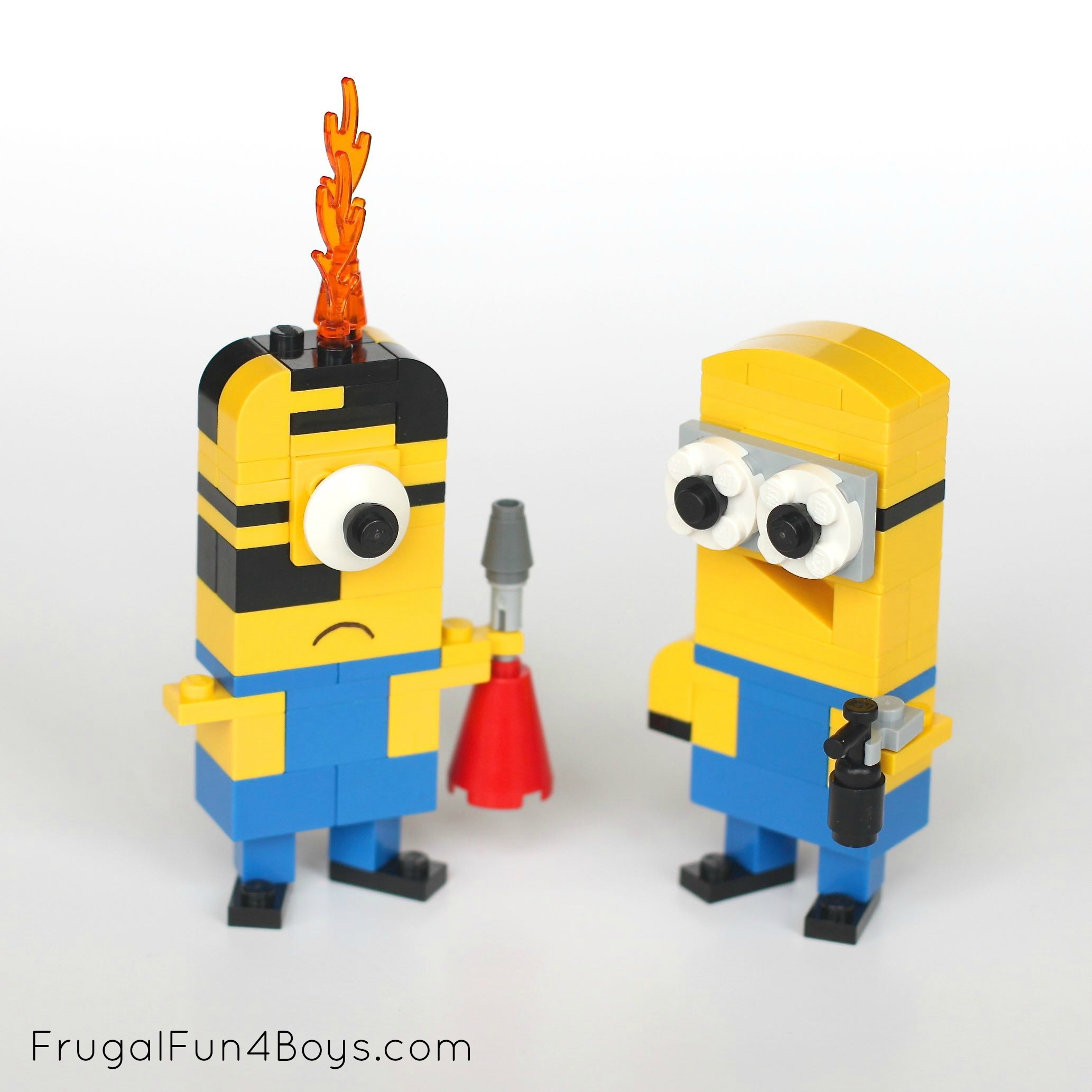 Lego Minions Building Instructions Frugal Fun For Boys And Girls