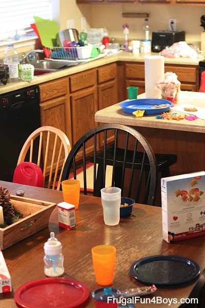 A Day in the Life of a Homeschooling Mom of Five
