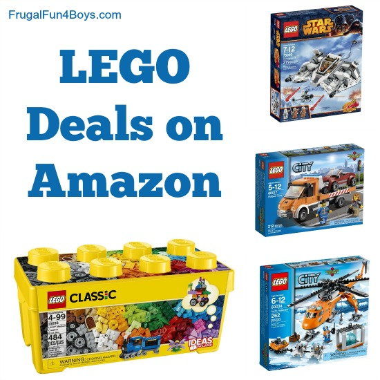 Lego Deals on Amazon - March 11, 2015