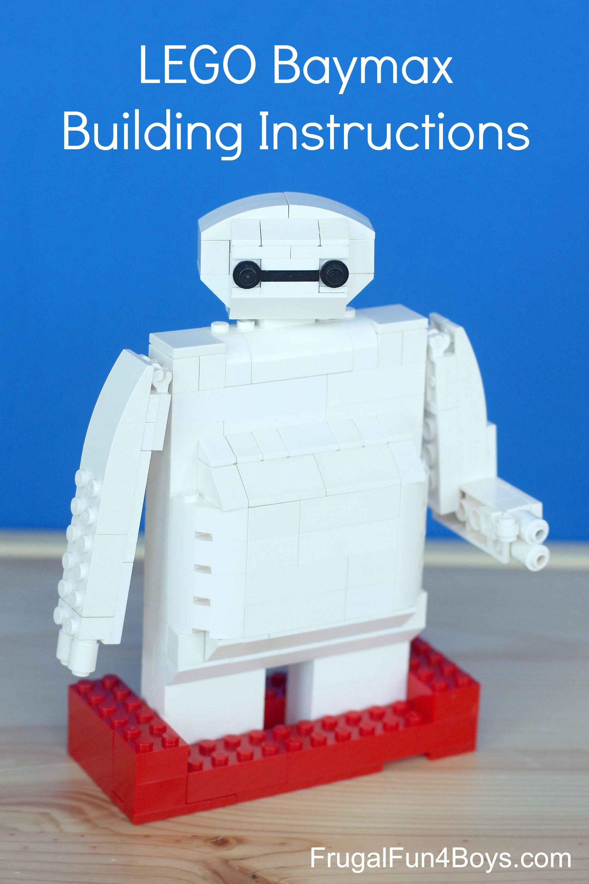 LEGO Baymax Building Instructions - Frugal Fun For Boys and Girls
