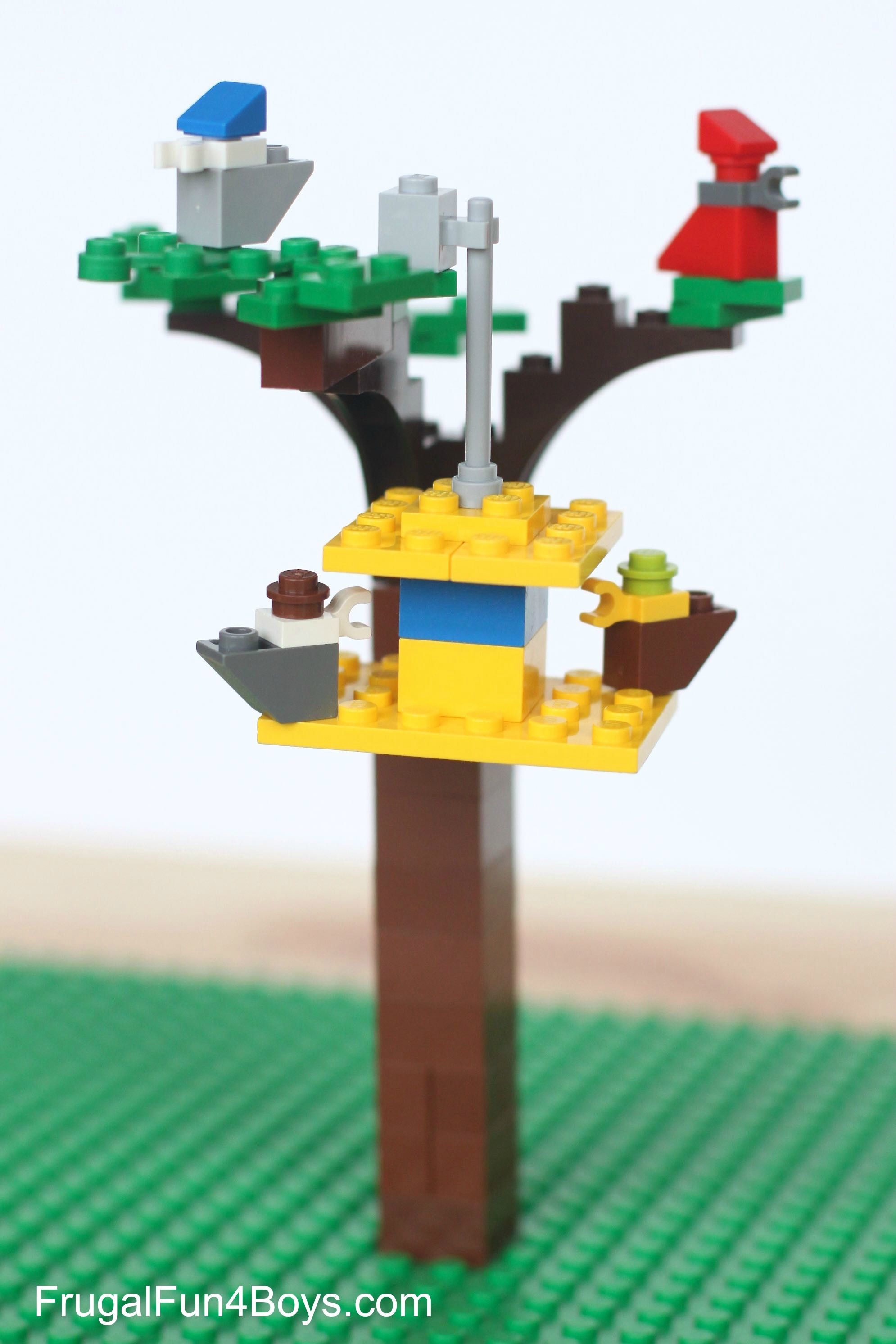 Six Spring Lego Projects to Build