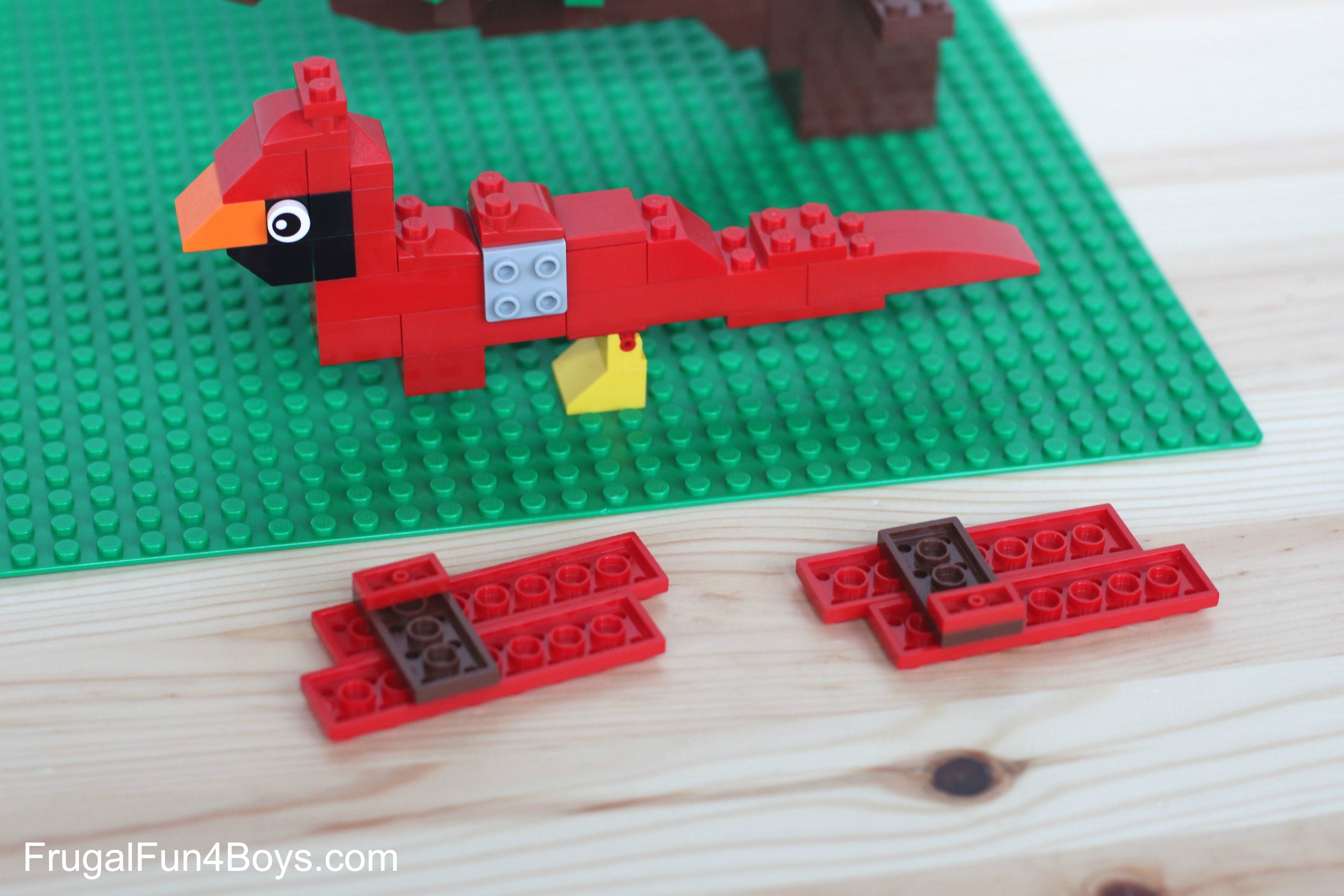 7 Spring Lego Projects