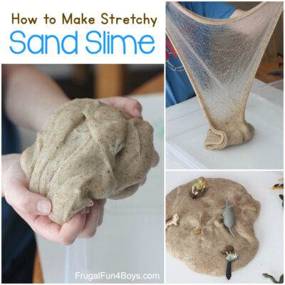 The Best Sand Slime Recipe