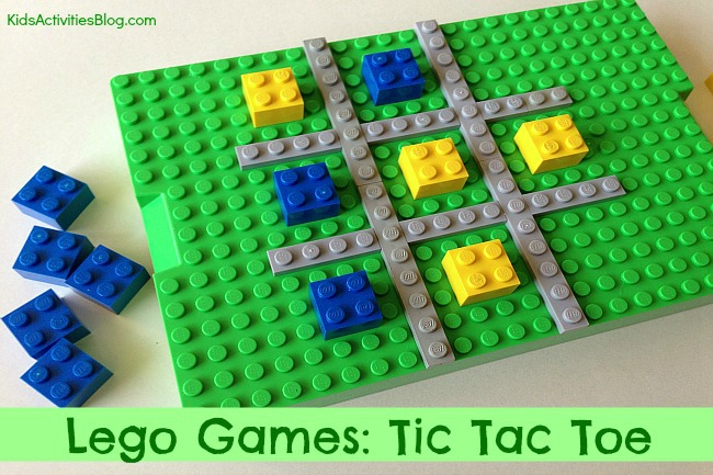 Tic-Tac-Toe-Lego-Game