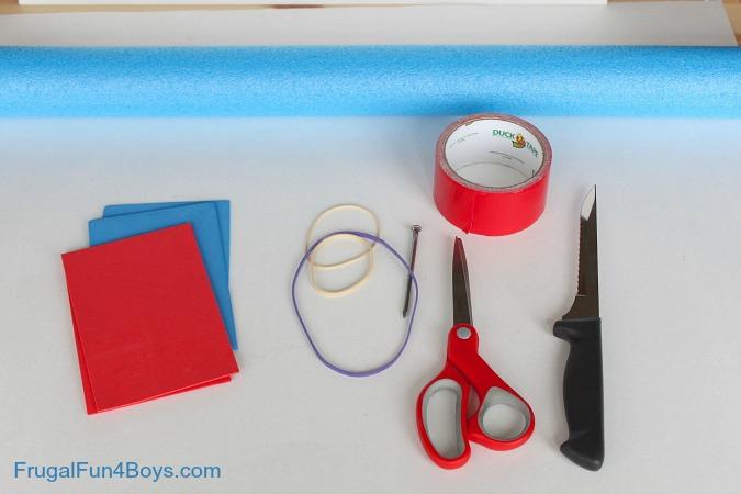 Pool Noodle Rocket Flinger - DIY Toy!