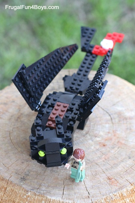 How To Build A Lego Toothless Inspired By How To Train