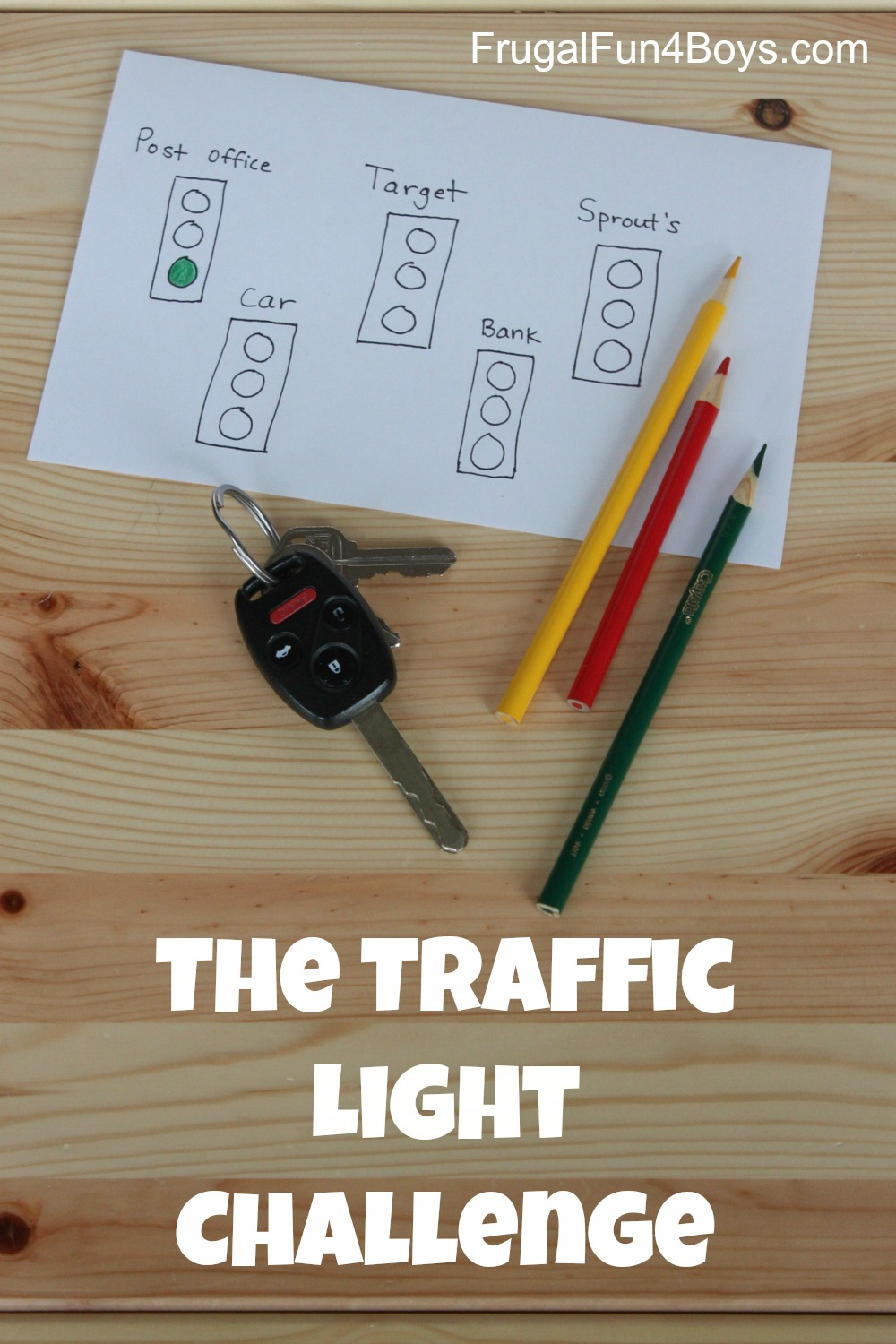 The Traffic Light Challenge:  Keeping it Positive when Running Errands with Kids