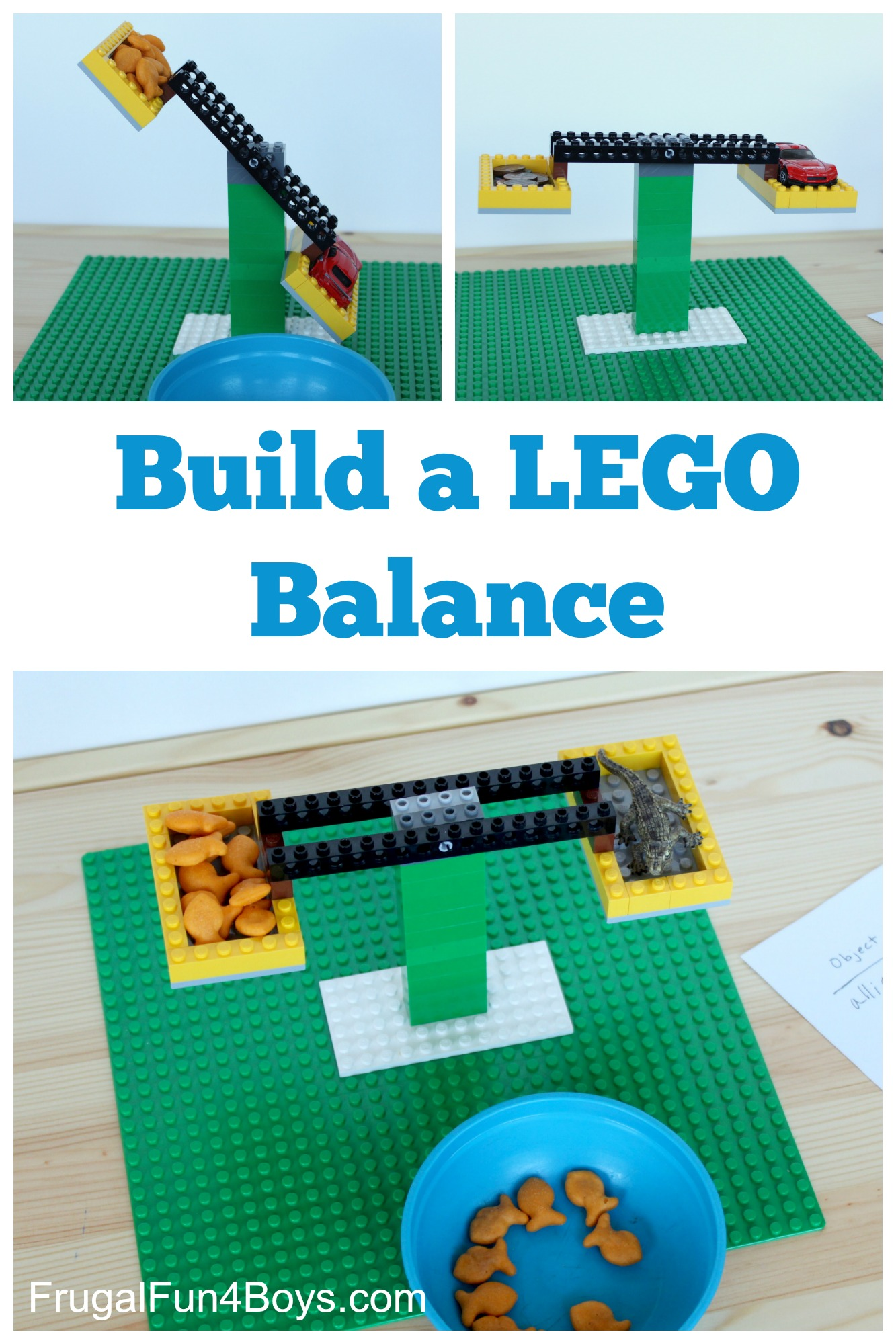 Build A Lego Balance Frugal Fun For Boys And Girls