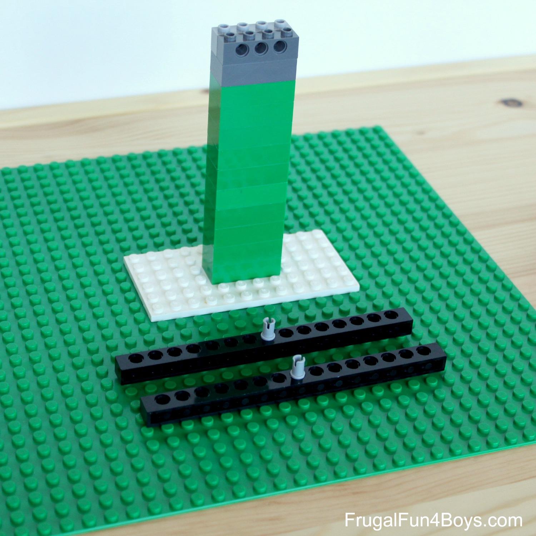 Build a LEGO Balance - Math Activity
