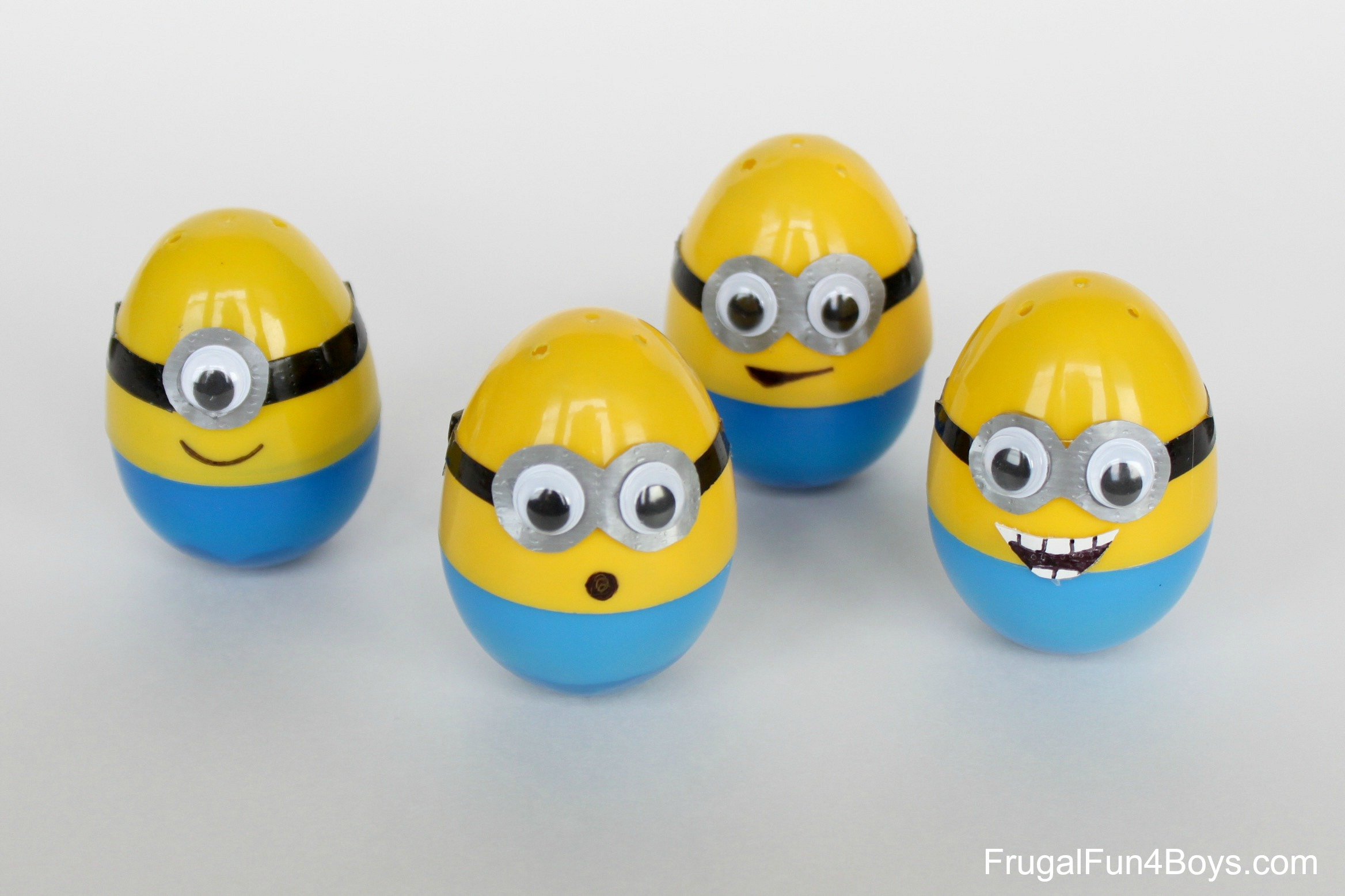 how to make minion eggs. Black Bedroom Furniture Sets. Home Design Ideas