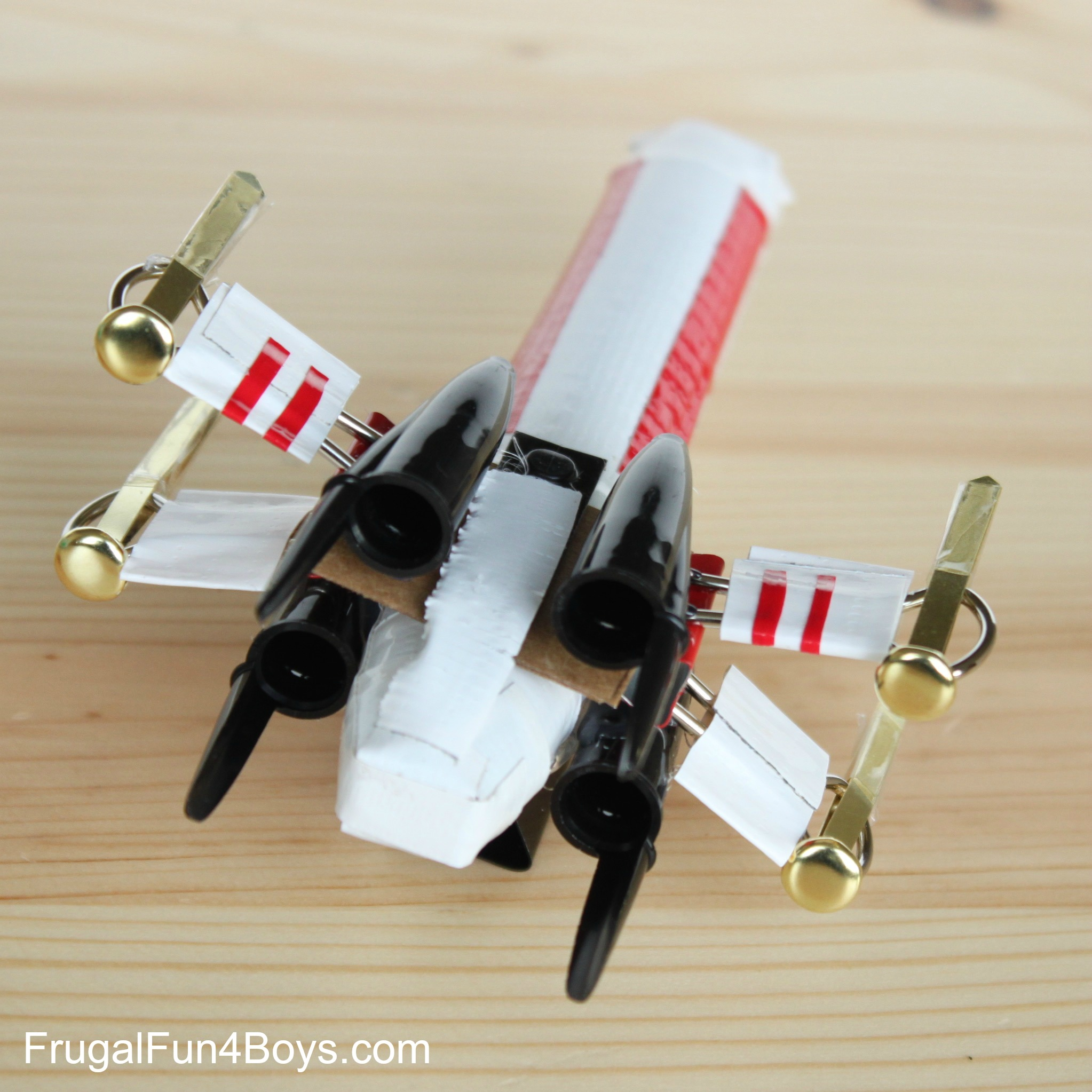 cool office supplies. How To Build A Star Wars X-Wing Out Of Office Supplies Cool U