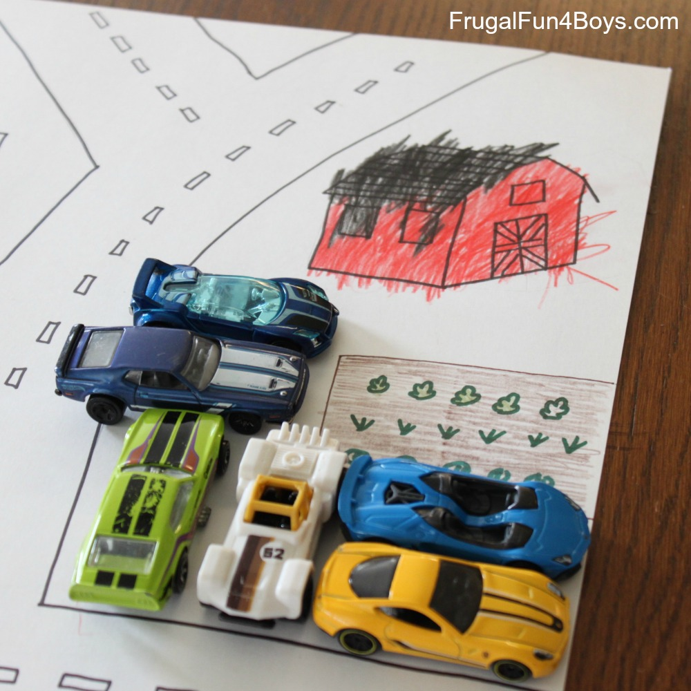 Hot Wheels Car Play Mat