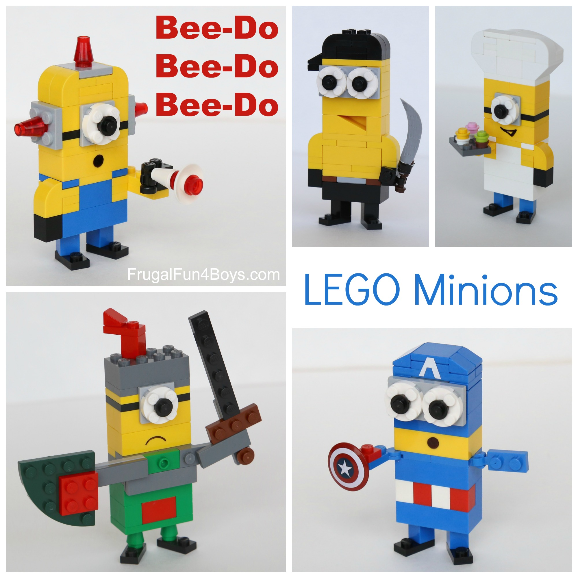 More Lego Minions To Build Frugal Fun For Boys And Girls