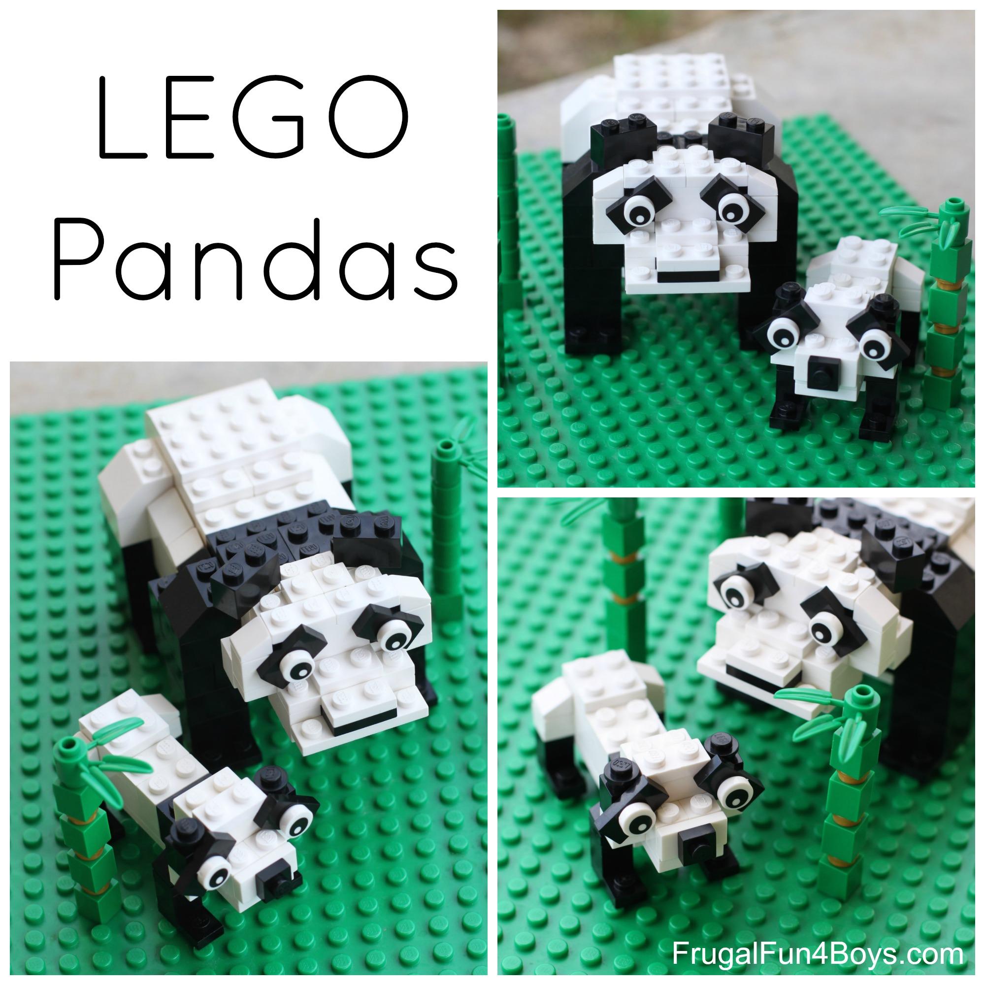 Lego Panda Bear Building Instructions Frugal Fun For Boys And Girls