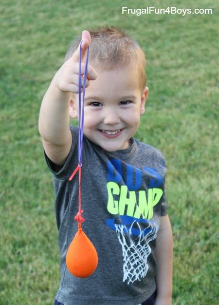 How to Make a Balloon Yo-yo Toy