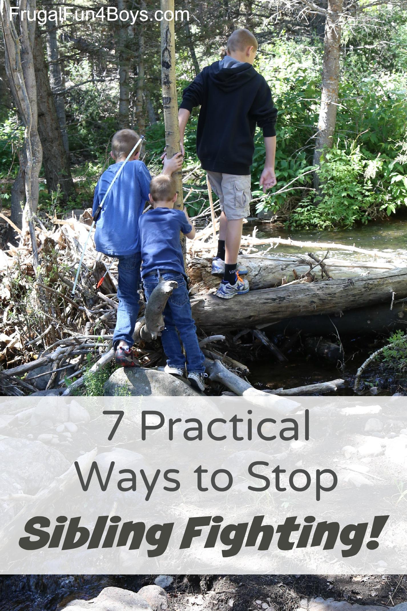 7 Practical Ways to Help Siblings Get Along