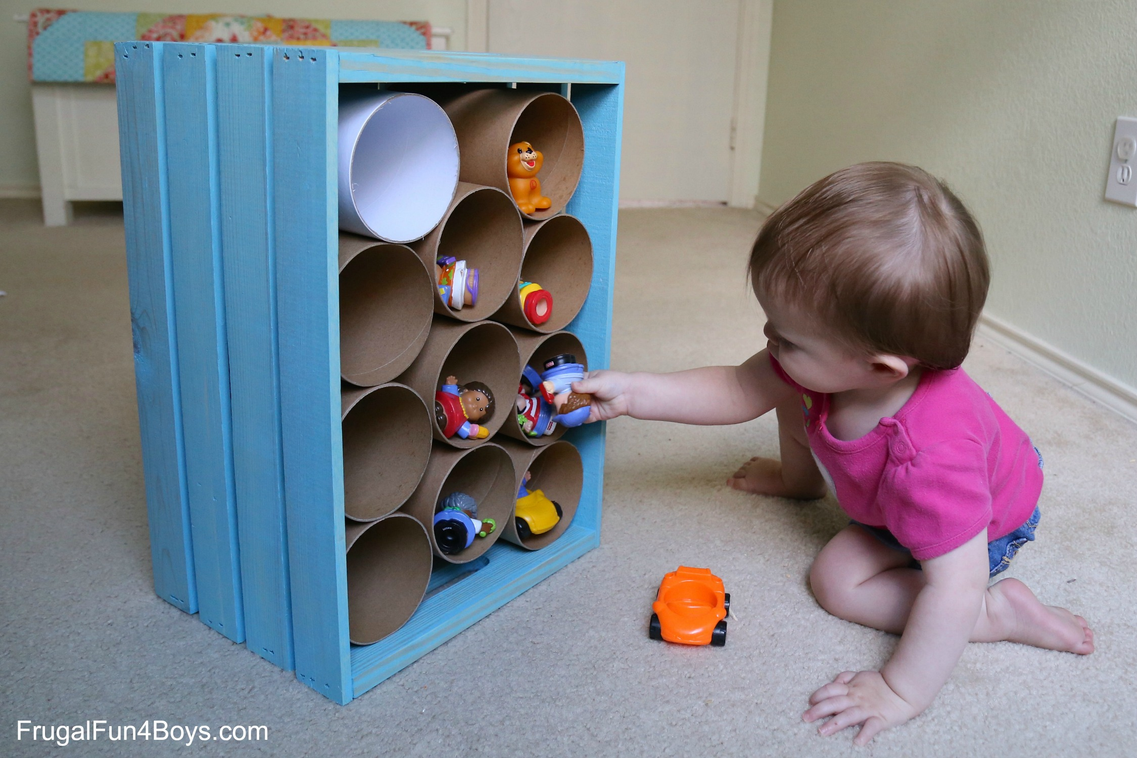 Wooden Crate Storage for Toys and Stuffed Animals & Wooden Crate Toy Storage