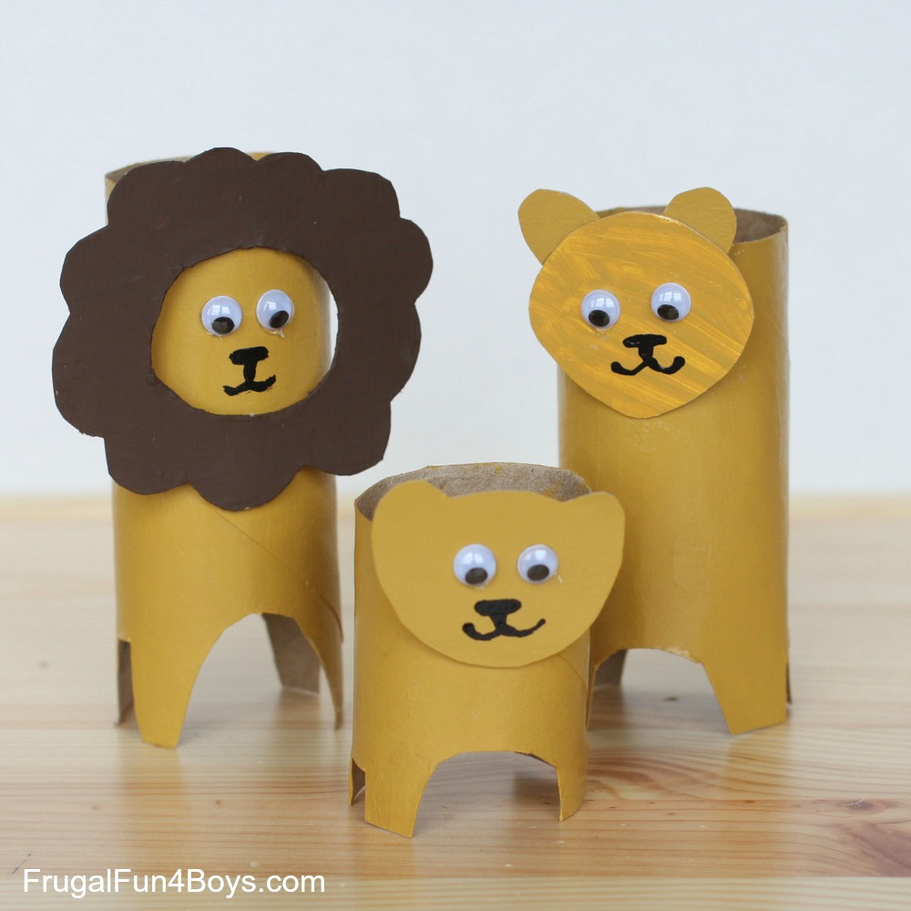 Toilet paper roll crafts animals image collections craft roll animals paper roll animals jeuxipadfo image collections jeuxipadfo Image collections