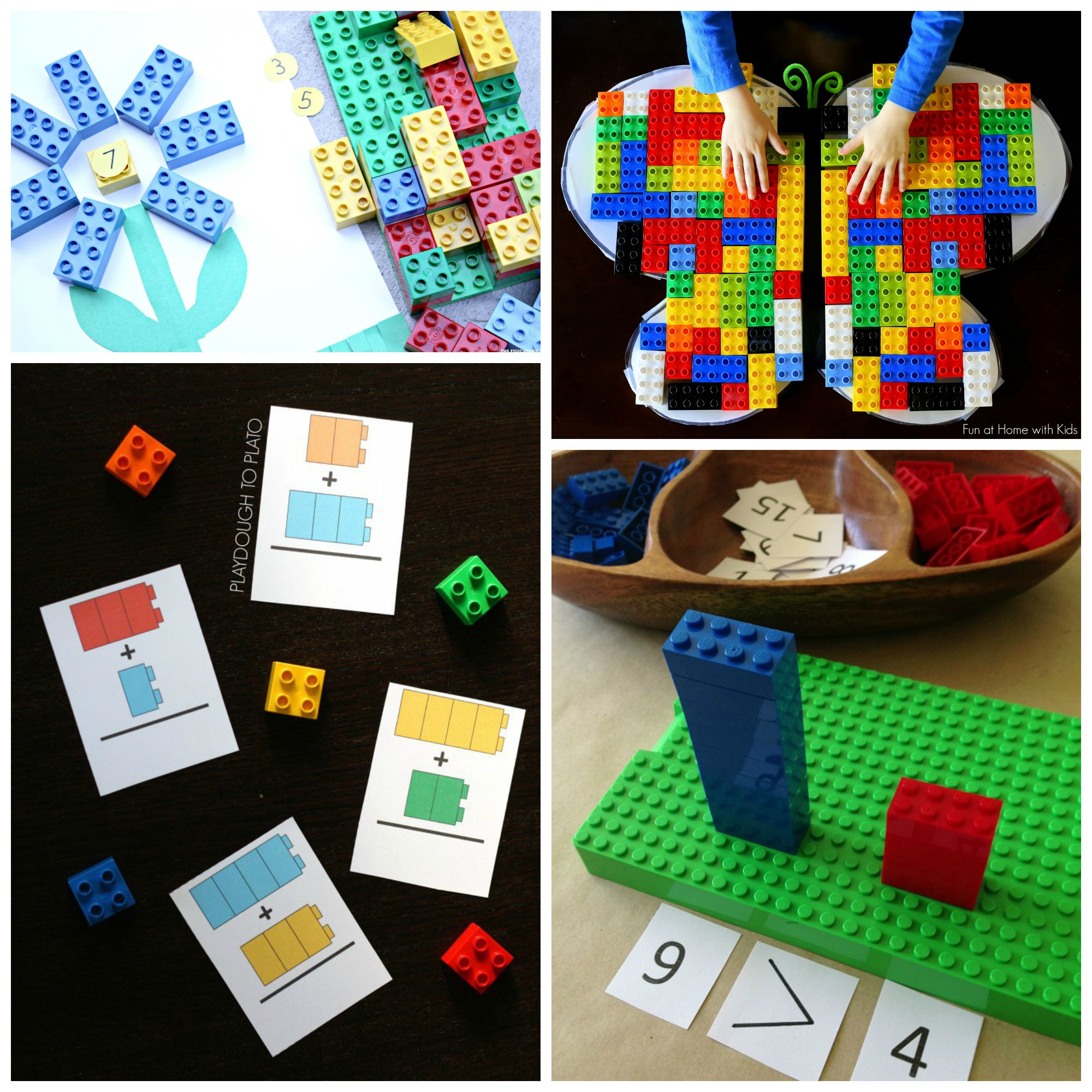 LEGO Learning: Math and Language Ideas