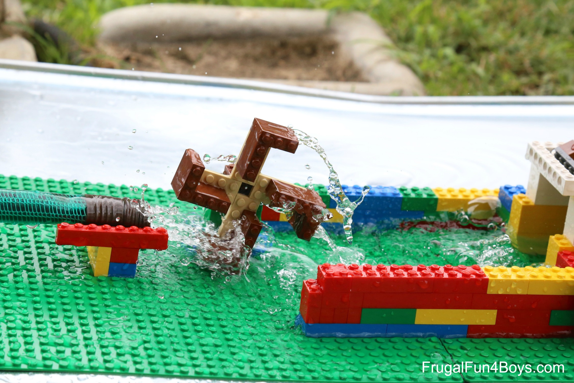 LEGO Water Wheel