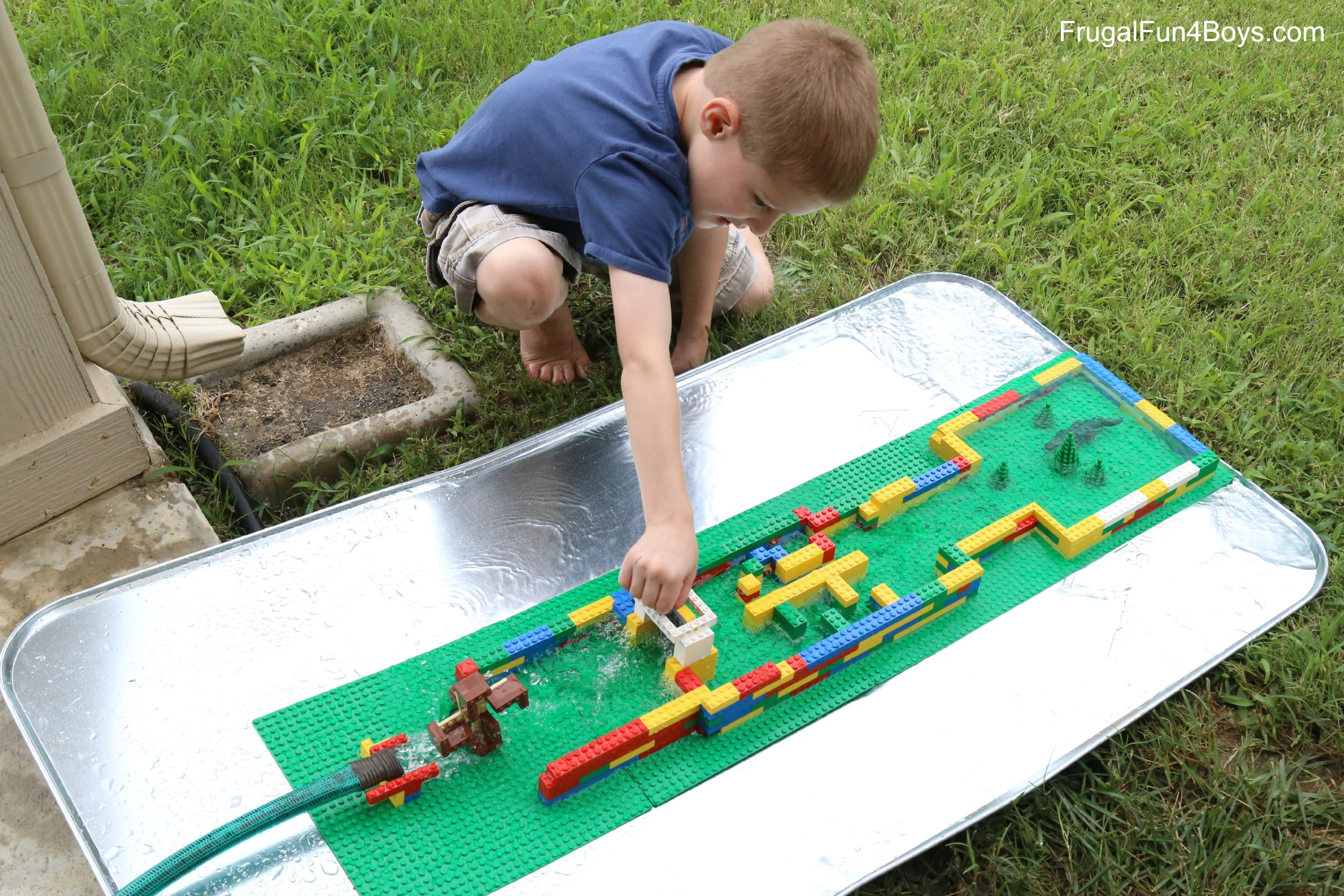 Engineering for Kids: LEGO and Water