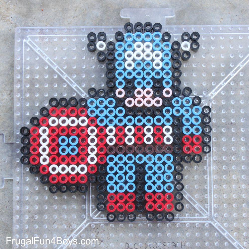 Avengers Perler Bead Patterns