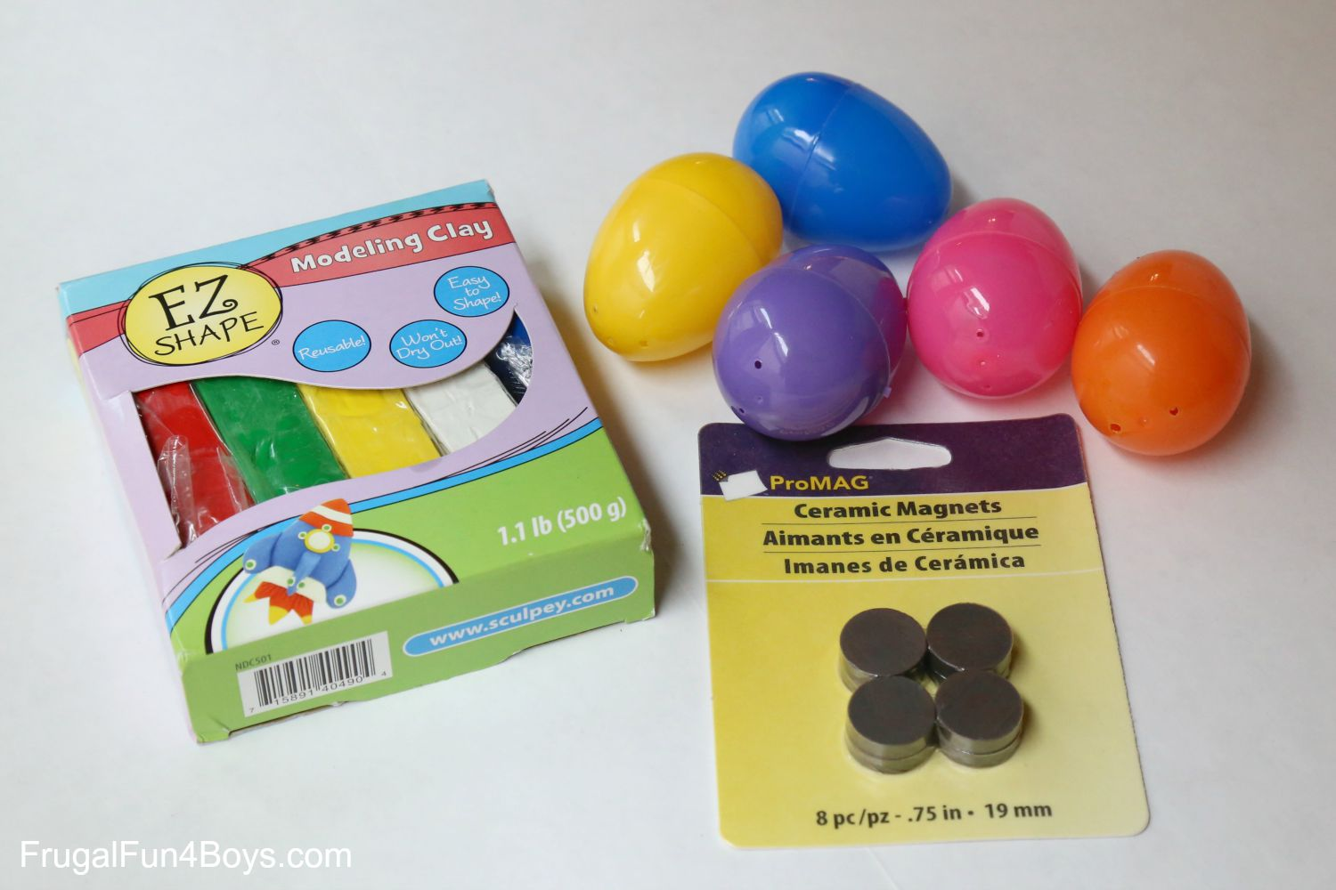 DIY Toy: Magnetic Eggs