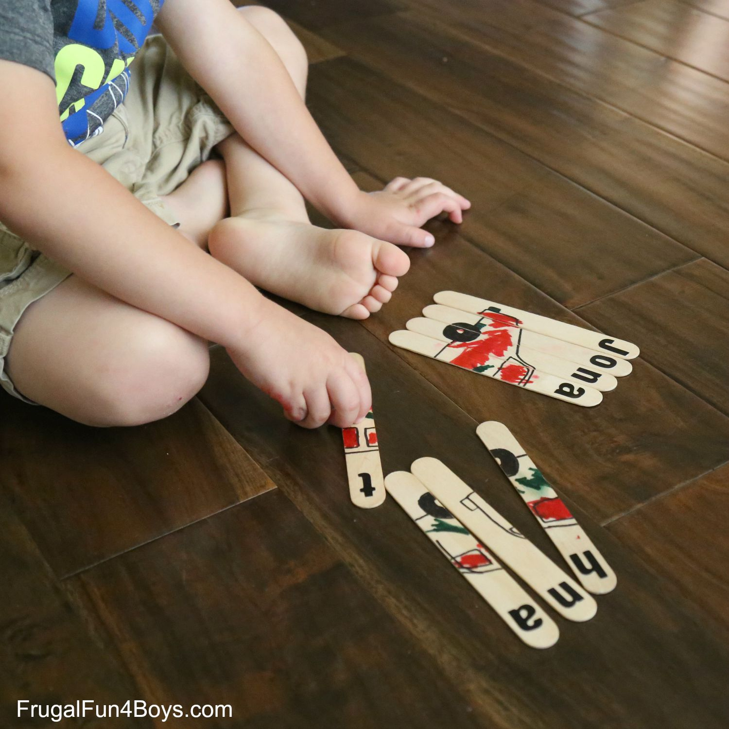 Simple Name Activities for Kids