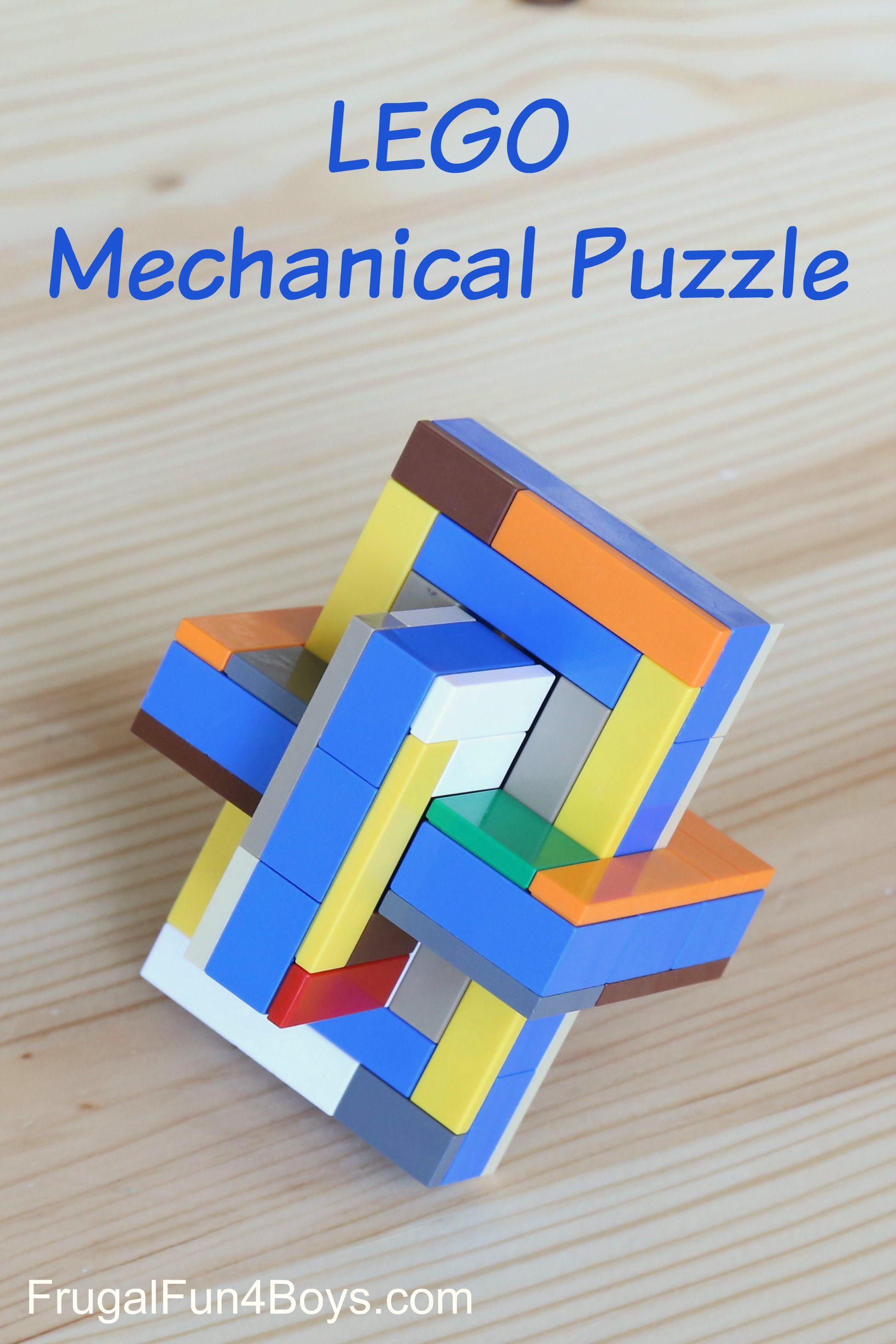 LEGO Mechanical Puzzle