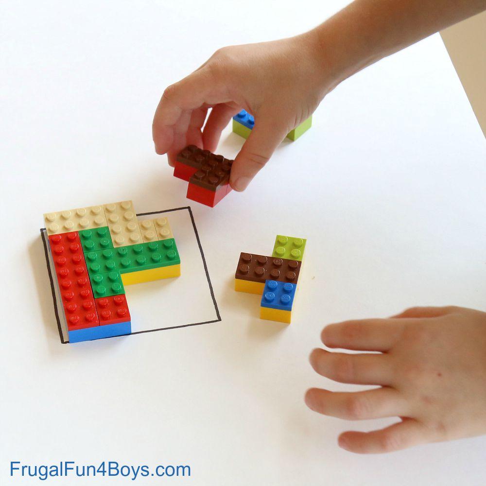 Quick Stem Challenge For Kids: LEGO Building Challenge For Kids: Brain Puzzles
